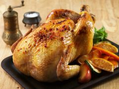 Previous Item: Whole Roasted Chicken with Seasonal Vegetables, Options include 1) Traditional, 2) Moroccan with Preserved Lemon, and 3) Panko Breadcrumb Stuffed ($14 Per Person / Time to Cook: 1:30 Hours (almost none active) / Cook by Day: Monday)