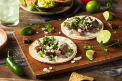 "Previous Item: Outside Skirt Steak Fajitas with Guajillo Pepper Mole and ""Same Day Guac"" ($14.00 per person)"