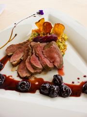 Previous Item: Molecular Gastronomy Week! Sous Vide Caneton aux Cérises (Duck with Cherries) with Creamy Farro and Braised Green Garlic ($16 Per Person / Time to Cook: 30 Min. / Cook By Day: Monday)