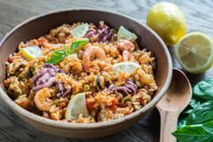 Previous Item: Paella Valenciana (Valencia-Style Paella) with choice of 1) Seafood or 2) Chicken (Time to Cook: 40 min)