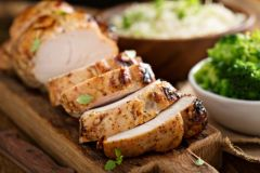 Previous Items: Sous Vide Air-Chilled Turkey Breast with Creamy Mashed Potatoes and Broccoli Rabe served with a Cherry Compote and Turkey Velouté ($14 Per Person / Time to Cook: 30 min. / Cook By Day: Friday)