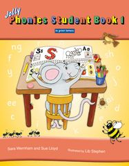 Jolly Phonics Student Book 1 (Color In Print Letters)