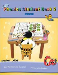 Jolly Phonics Student Book 2 (Color In Print Letters)