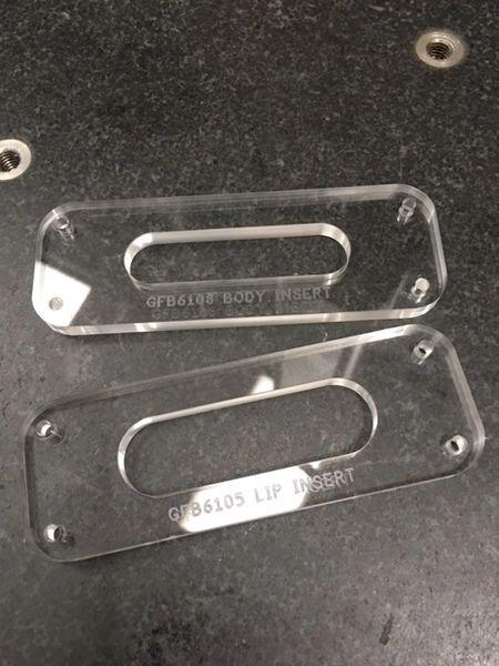 Grainger Ferrule Block Template Insert - 6 String, 10.8mm Spacing