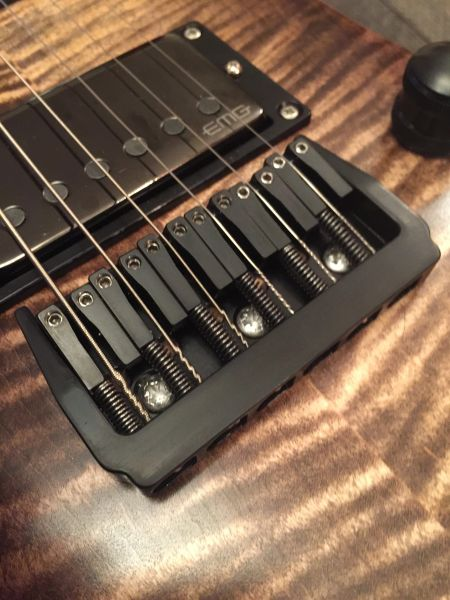grainger hardtail guitar bridge 8 string grainger guitar parts. Black Bedroom Furniture Sets. Home Design Ideas