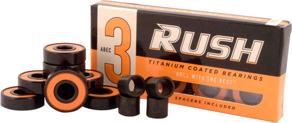 RUSH BEARINGS W/SPACERS SET - (4 OPTIONS)