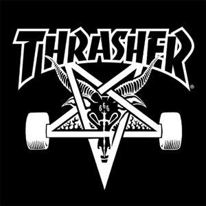 Thrasher Magazine Skate Goat Banner - 3'x3'