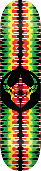 DARKSTAR RASTA BADGE DECK - (2 OPTIONS)