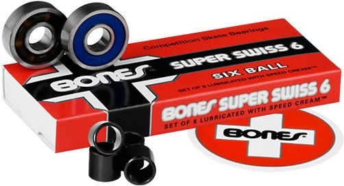 BONES SWISS 6-BALL BEARINGS SET