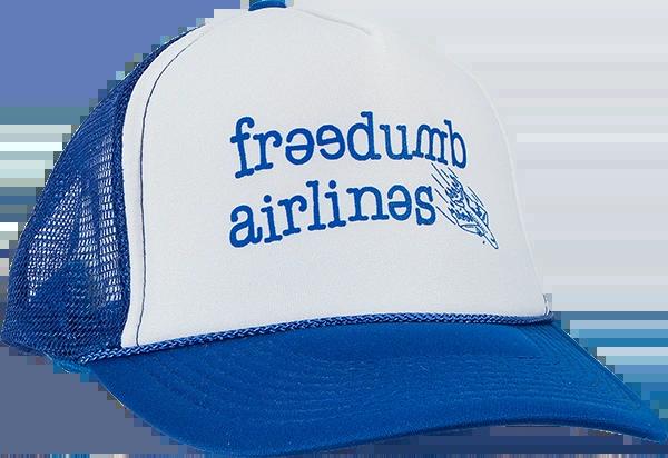 FREEDUMB LOGO MESH HAT - SNAPBACK