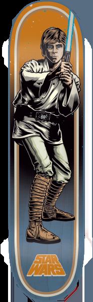 SANTA CRUZ STAR WARS LUKE - 7.8