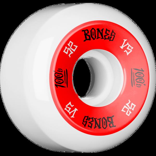 BONES 100s V5 WHITE (Set of 4)