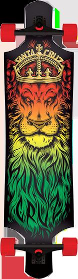 SANTA CRUZ DROP-THRU LION GOD COMPLETE - 10x40