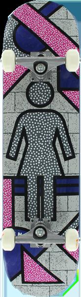 GIRL KENNEDY FRAMEWORK COMPLETE W/ROYALS - 7.75