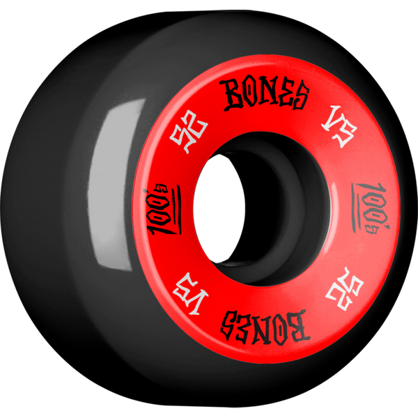 BONES 100s V5 BLACK (Set of 4)