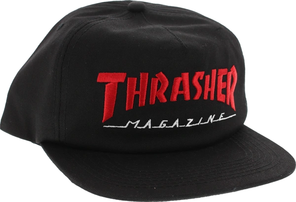 THRASHER TWO TONE MAG LOGO HAT SNAPBACK - (3 OPTIONS)