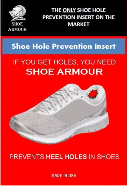 Heel Hole Shoe Hole Prevention Insert