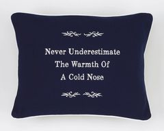 Item # P486 Never underestimate the warmth of a cold nose.