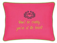 Item # P717 Don't be crabby, you're at the beach!