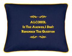 "Item # P003 ALCOHOL is the answer, I don""t remember the question."