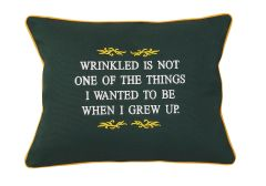 Item # P059 Wrinkled is not one of the things I wanted to be when I grew up.