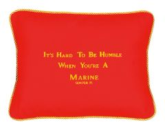 Item # P010 It's hard to be humble when you're a Marine-Semper Fi