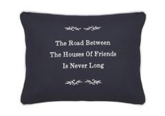 Item # P464 The road beteween the houses of friends is never long.