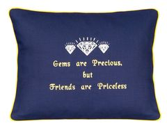 Item # P626 Gems are precious, but friends are priceless.