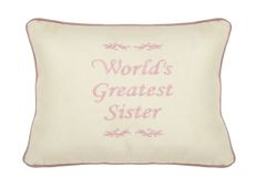 Item # P125 Worlds greatest Sister.