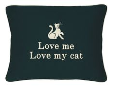 Item # P455 Love me, love my cat.