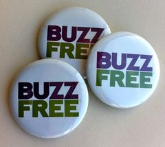 500 BuzzFree Buttons