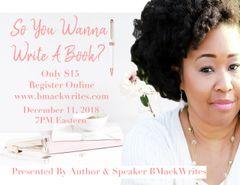 So You Wanna Write a Book
