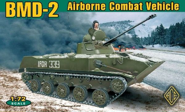 1/72 BMD2 Soviet Airborne Combat Vehicle - ACE 72115