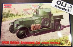 1/72 Pattern 1920 Mk I WWII British Armored Car - Roden 731