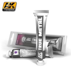 True Metal Wax Metallic Purple 20ml Tube - AK Interactive 452