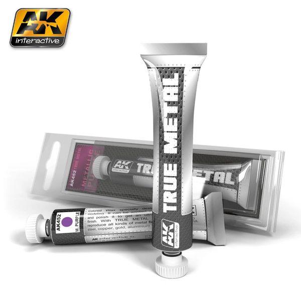True Metal Wax Metallic Purple 20ml Tube - AK Interactive 452