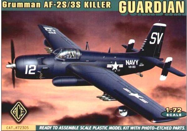 1/72 AF2S/3S Killer Guardian USN Bomber - ACE 72305