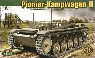 1/72 Pionier-Kampfwagen II Tank - ACE 72272