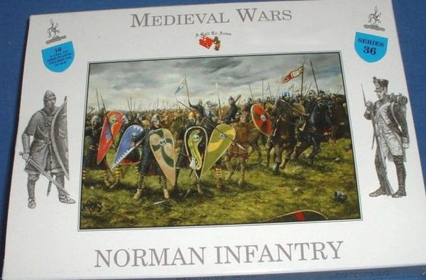 1/32 Medieval Wars: Norman Infantry (16) - A Call to Arms 36