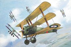 1/32 Sopwith WWI British Triplane Fighter - Roden 609