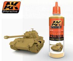 Dark Yellow Acrylic Primer 60ml Bottle - AK Interactive 176