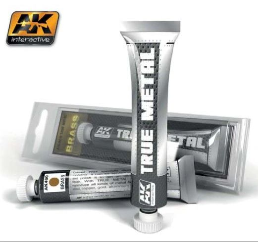 True Metal Wax Brass 20ml Tube - AK Interactive 460