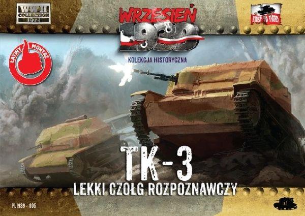1/72 TK-3 Polish Light Recon Tank - First to Fight 005