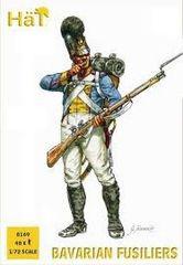 1/72 Napoleonic Bavarian Fusiliers (48) - HAT-8169