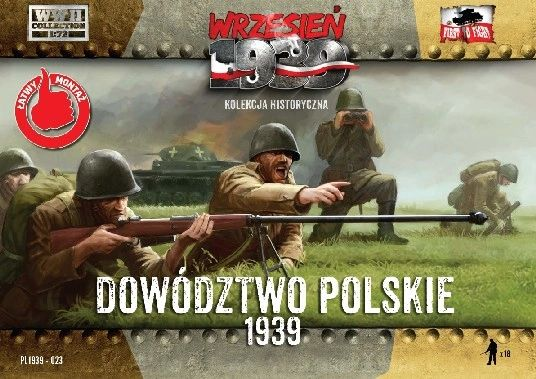 1/72 WWII Polish Headquarters Infantry Officers (18) - First to Fight 023