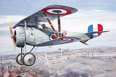 1/32 Nieuport 24bis WWI Biplane Fighter - Roden 611