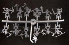 1/72 Light Warg Orcs Figures (12 Mtd) - ALLIANCE FIGURES 72009