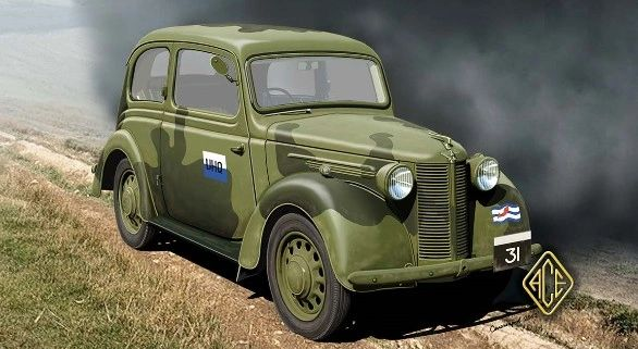 1/72 British Forlite 8HP Staff Car - ACE 72513