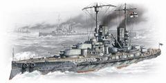 1/350 WWI German Grosser Kurfurst Battleship - ICM 2