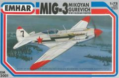 1/72 WWII MiG3 Russian Fighter - Emhar 2001